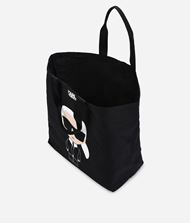 KARL LAGERFELD K/Ikonik Canvas Tote Bag 9_f