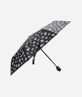 KARL LAGERFELD K/IKONIK FACES UMBRELLA
