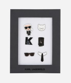 KARL LAGERFELD K/IKONIK BROCHES