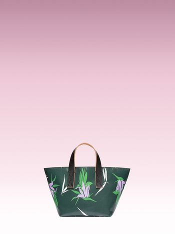 Marni Mini vase holder with Kapfu print Man