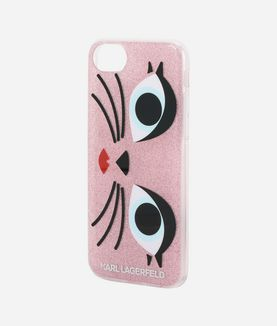 KARL LAGERFELD GLAM CHOUPETTE IPHONE 7 CASE