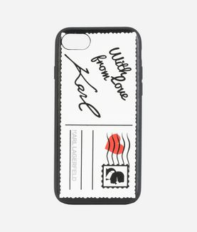KARL LAGERFELD POSTCARD IPHONE 7 CASE