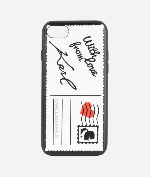 KARL LAGERFELD iPhone 7 Case Postkarte 12_f