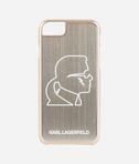 Karl Head Gold Aluminum iPhone 7 Case