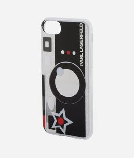KARL LAGERFELD PHOTO CAMERA IPHONE 7 CASE
