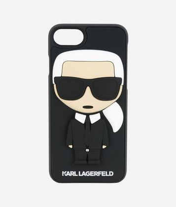 KARL LAGERFELD K/IKONIK KARL 3D IPHONE + CASE