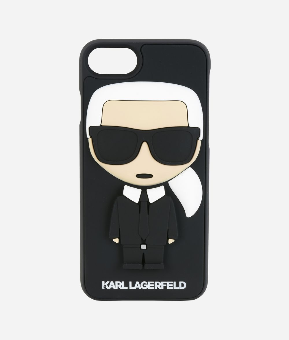 KARL LAGERFELD K/IKONIK KARL 3D IPHONE + CASE iPad/iPhone Case Woman f
