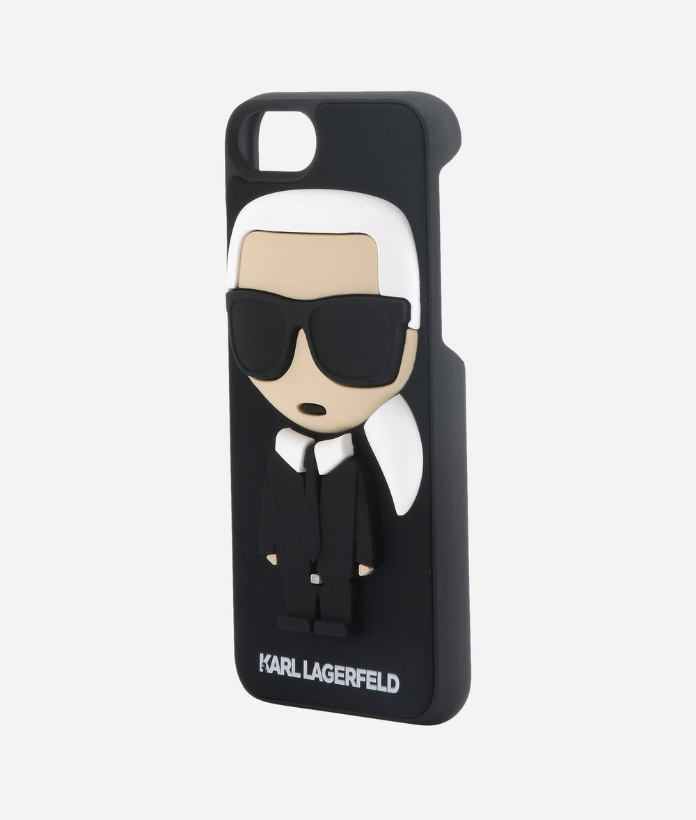 KARL LAGERFELD K/IKONIK KARL 3D IPHONE + CASE iPad/iPhone Case Woman r