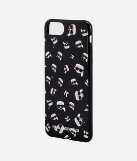 KARL LAGERFELD IKONIK ALL OVER PRINT IPHONE 7 PLUS CASE