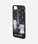 KARL LAGERFELD Choupette & Karl in Paris iPhone 7 Case 8_r