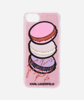 KARL LAGERFELD IPHONE 7 CASE PARIS MACARONS