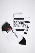 DSQUARED2 Be Cool Be Nice Socks 短袜 男士