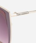 KARL LAGERFELD Round Piping KL254s 8_e