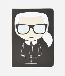 KARL LAGERFELD K/IKONIK BLOC NOTES