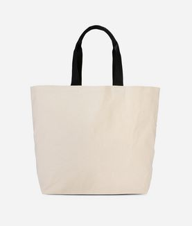 KARL LAGERFELD K/IKONIK CANVAS SHOPPER