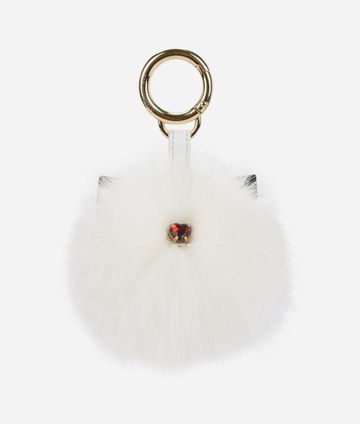 KARL LAGERFELD K/Love Fur Mirror Keychain 12_f