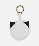 KARL LAGERFELD K/Love Fur Mirror Keychain 8_d