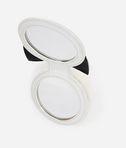 KARL LAGERFELD K/Love Fur Mirror Keychain 8_r
