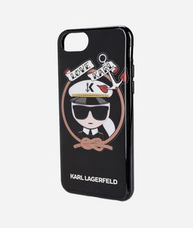 KARL LAGERFELD KARL SAILOR BLACK TPU CASE
