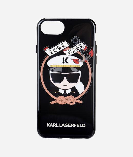 KARL LAGERFELD Karl セーラー ブラック TPU ケース 12_f