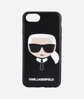 KARL LAGERFELD KARL IKONIK HEAD PU EMBOSSED