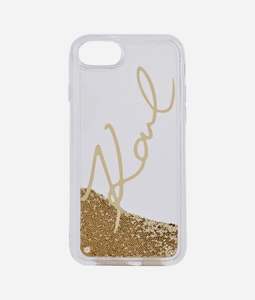 KARL LAGERFELD Liquid Glitter Signature Gold 12_f