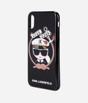 Karl Sailor Black TPU case iPhone X