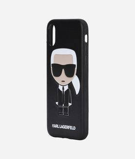KARL LAGERFELD KARL IKONIK PU EMBOSSED IPHONE X
