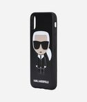 Karl Ikonik PU Embossed iPhone X