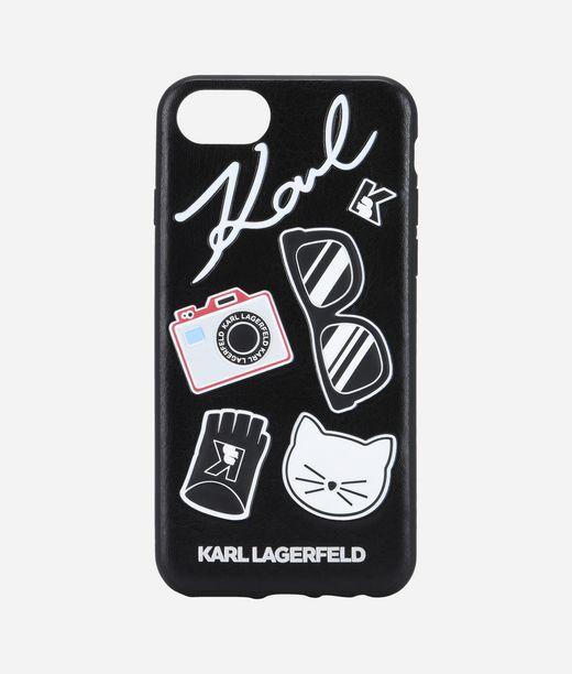 KARL LAGERFELD Embossed Pins PU 12_f