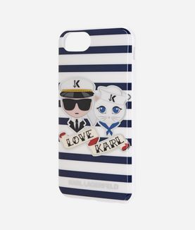 KARL LAGERFELD KARL SAILOR STRIPES TPU CASE