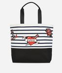 KARL LAGERFELD Kaptain Karl Shopper aus Canvas 8_f