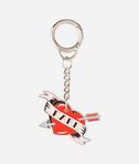 Captain Karl Heart Keychain