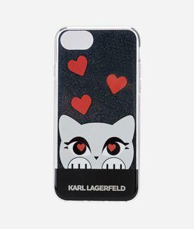 KARL LAGERFELD VALENTINE CHOUPETTE TPU CASE