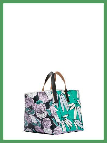 Marni MARNI MARKET medium vase holder with pink and green multi-print Man