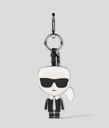 KARL LAGERFELD KARL LEATHER KEYCHAIN