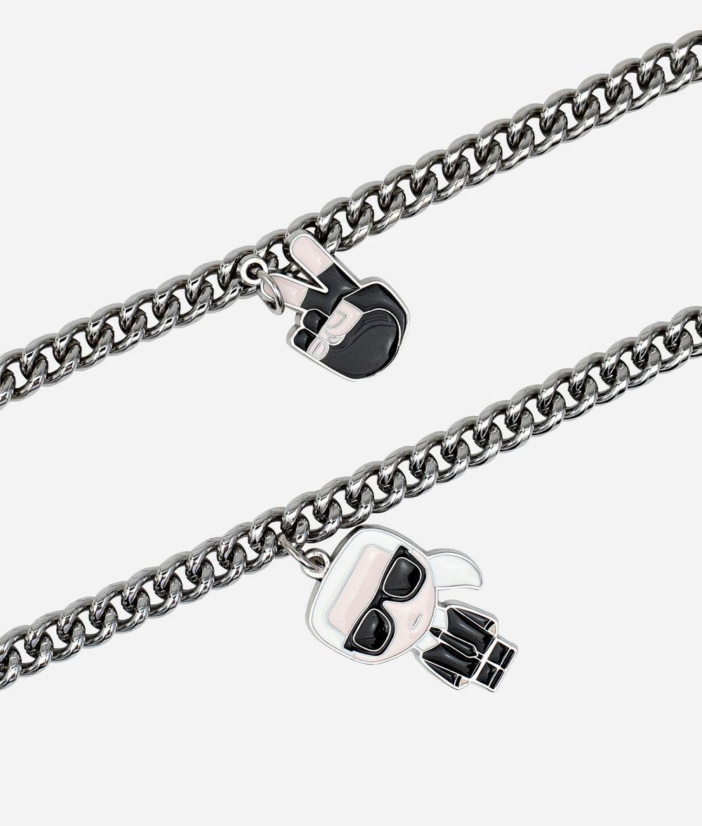 KARL LAGERFELD K/Ikonik Charms Chain Shoulderstrap Woman d