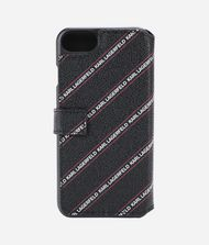 KARL LAGERFELD LOGO FOLIO IPHONE 8 CASE 9_f