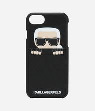 KARL LAGERFELD iPad/iPhone Case E SNEAKY KARL IPHONE 8 CASE f