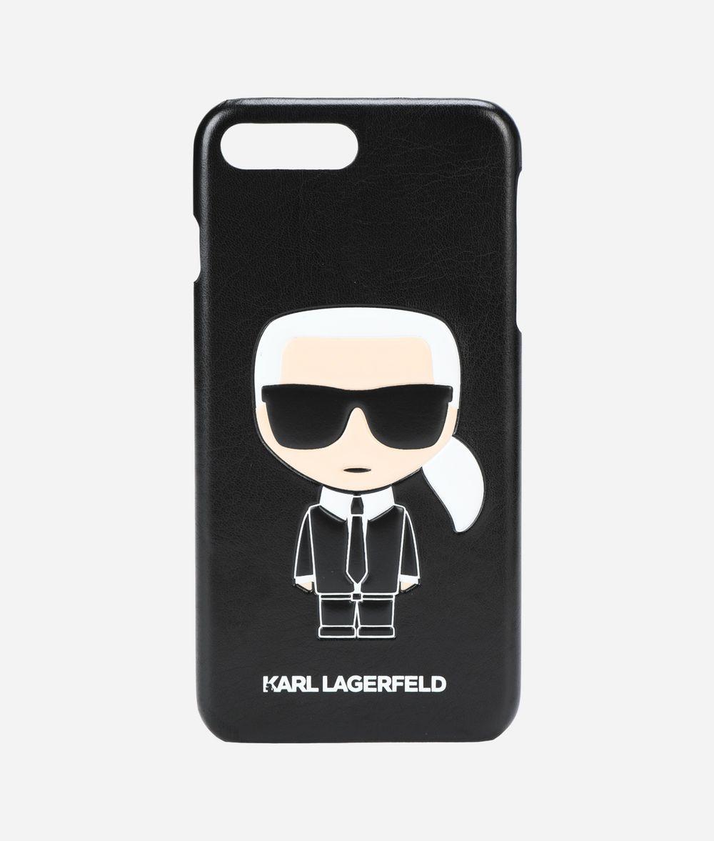 KARL LAGERFELD K/IKONIK EMBOSSED IPHONE 8 PLUS CASE iPad/iPhone Case Woman f
