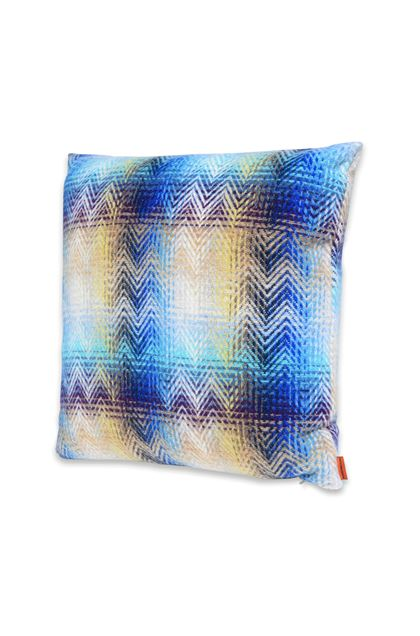 MISSONI HOME MONTGOMERY CUSHION Blue E - Back