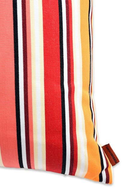 MISSONI HOME RAINBOW CUSHION Beige E - Front