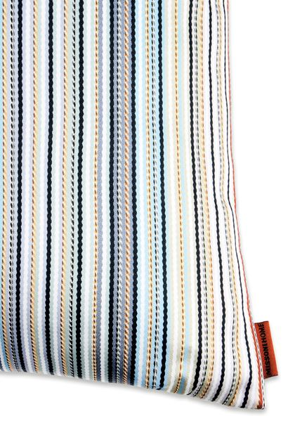 MISSONI HOME JENKINS CUSHION Sky blue E - Front