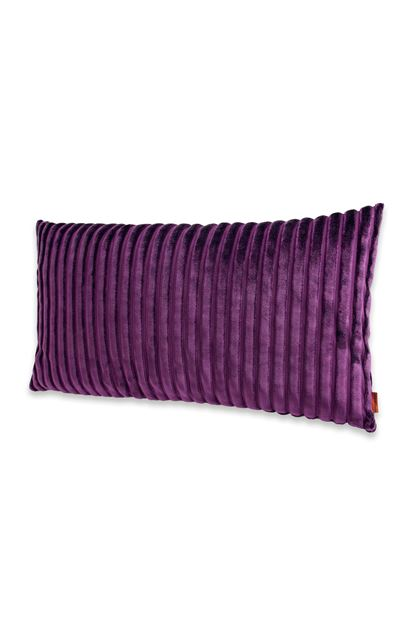 MISSONI HOME COOMBA CUSHION Purple E - Back