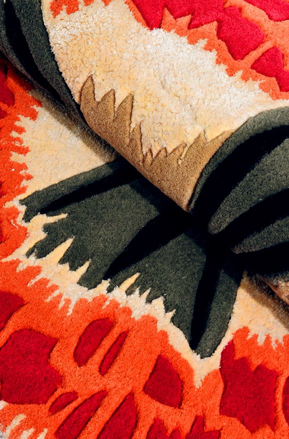 MISSONI HOME BOTANICA RUG  E, Rear view