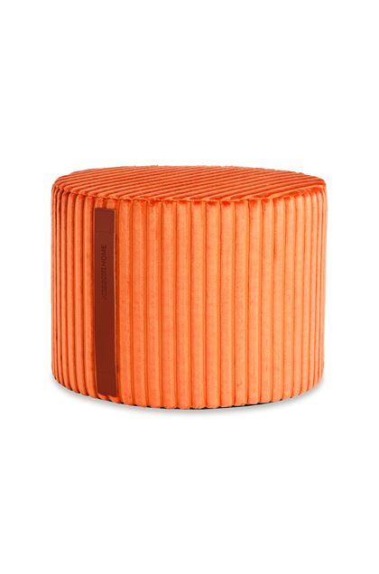 MISSONI HOME COOMBA CYLINDER POUF Orange E - Back