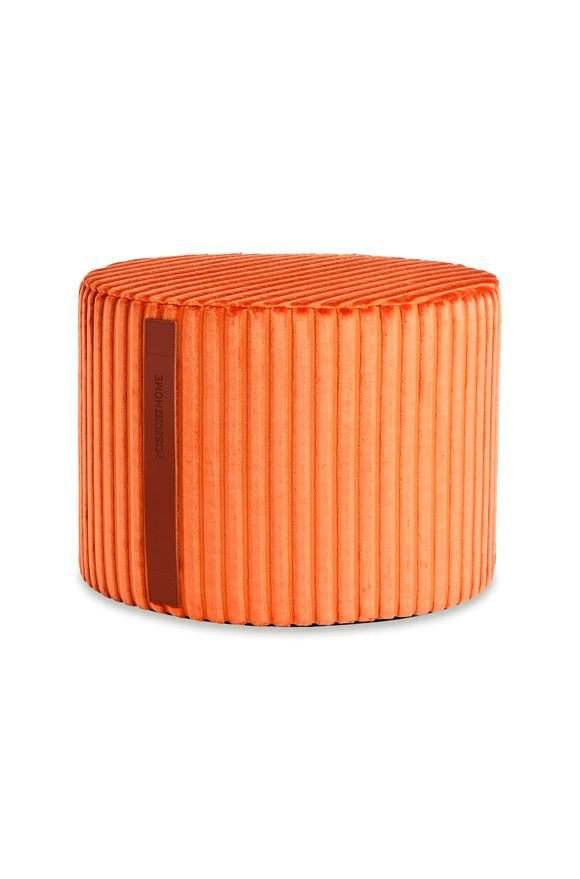 MISSONI HOME COOMBA CYLINDER POUF Orange E