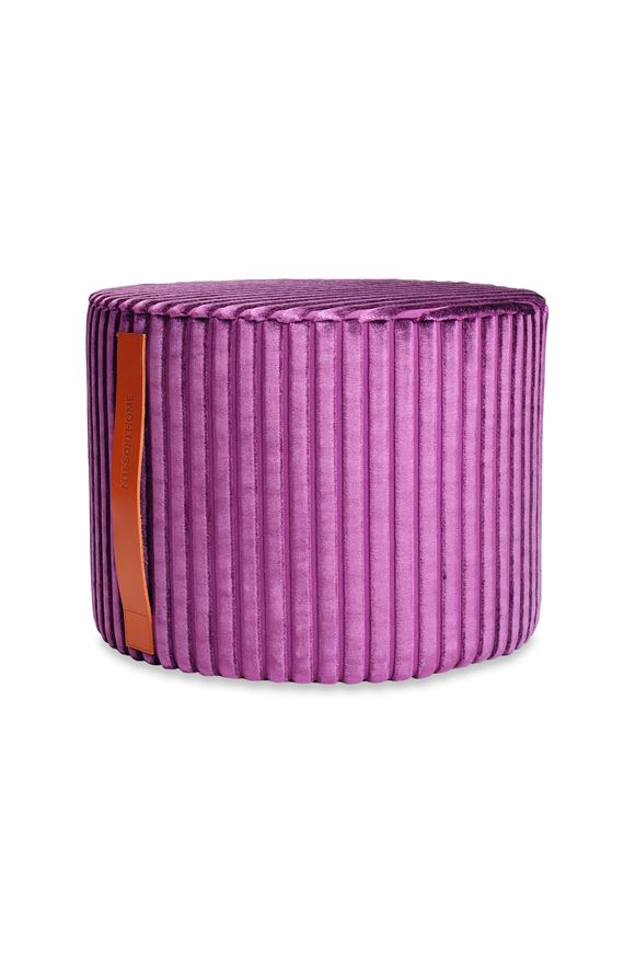 MISSONI HOME COOMBA CYLINDER POUF E, Frontal view
