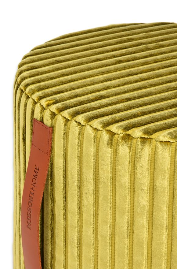 MISSONI HOME COOMBA CYLINDER POUF E, Rear view