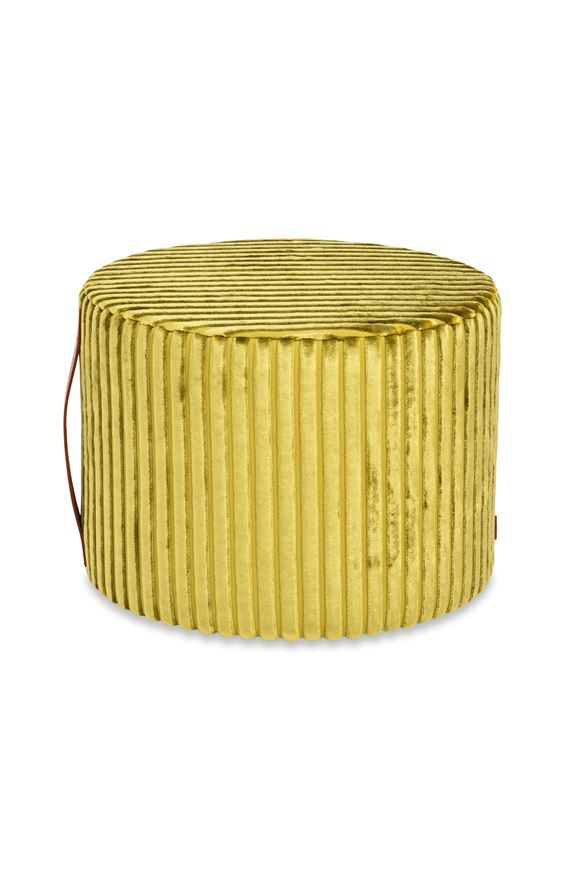 MISSONI HOME COOMBA CYLINDER POUF Acid green E